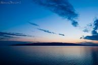 Il panorama blu