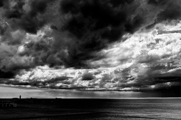 Nuvoloni sul golfo copia