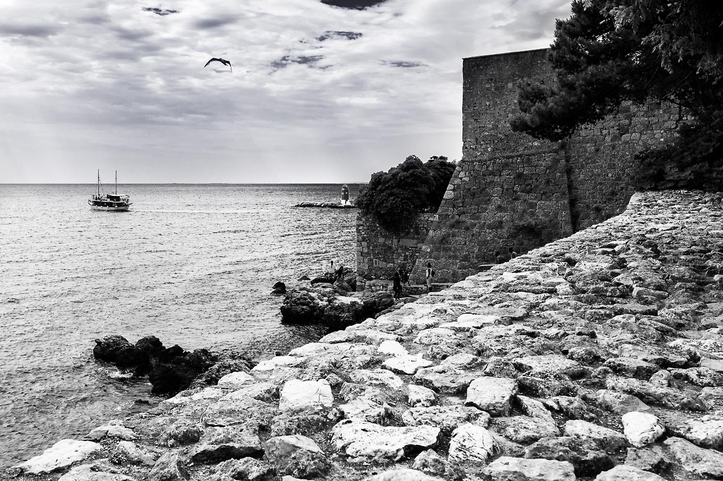 Il mare in bianco e nero photopivo for Disegni di paesaggi di mare