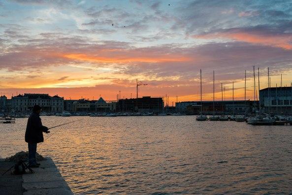 Pescare-al-tramonto