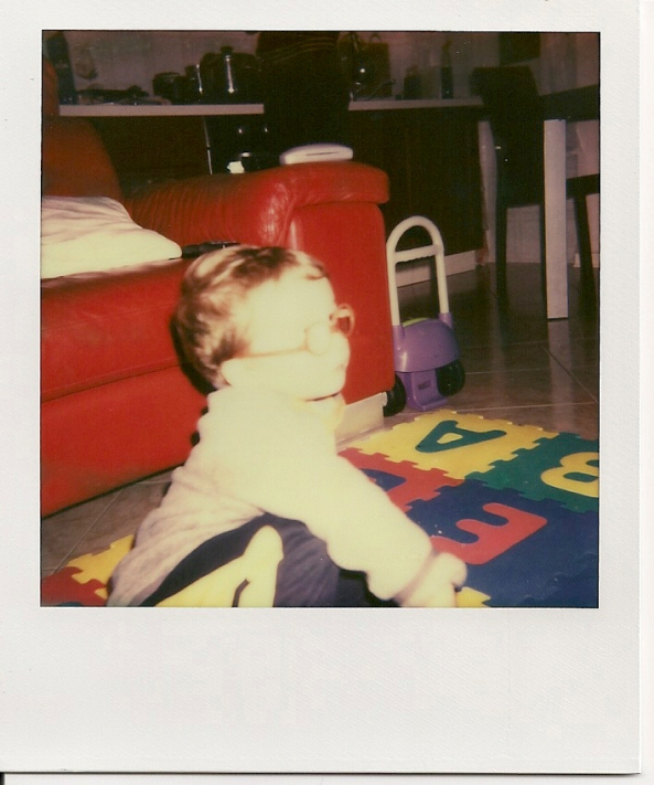 Matteo in Polaroid