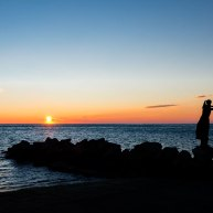 La-mula-de-Trieste-al-tramonto