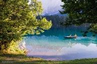 Barchetta sul lago