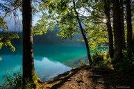 Lago in controluce