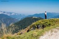 Mirando i monti