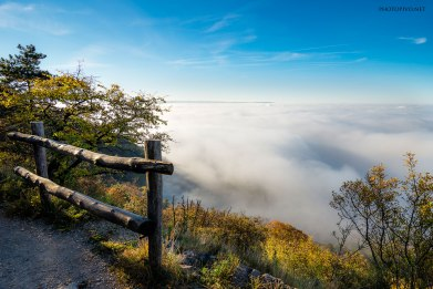 La nebbia dal carso